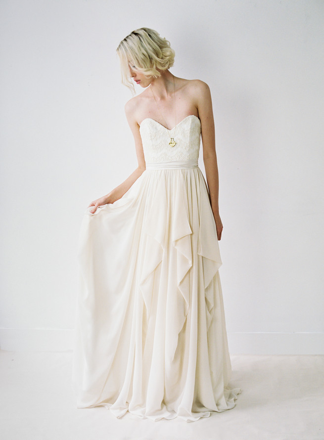 Sweet heart Truvelle Wedding Dress by Blush Wedding Photography