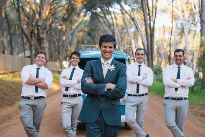 Boys will be boys. ite and Gold DIY Chevron Wedding, South Africa, by Claire Thomson Photography