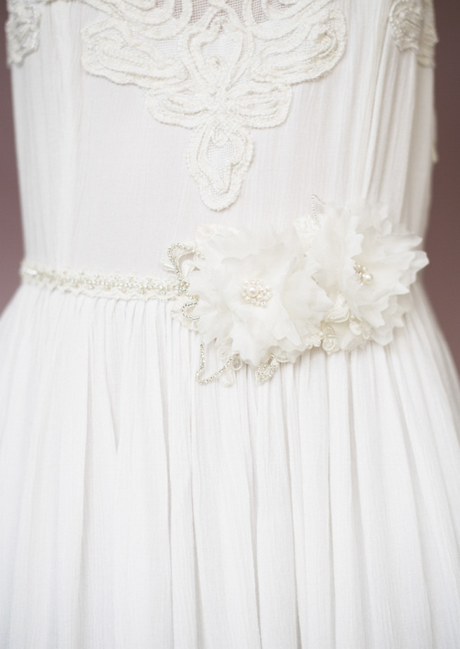 Blair Nadeau Handcrafted Bridal Sash