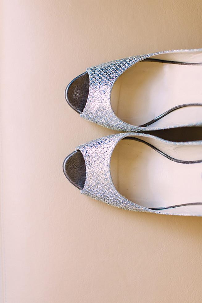 Silver Jimmy Choo's // / Elegant Milwaukee Wedding Valo Photography