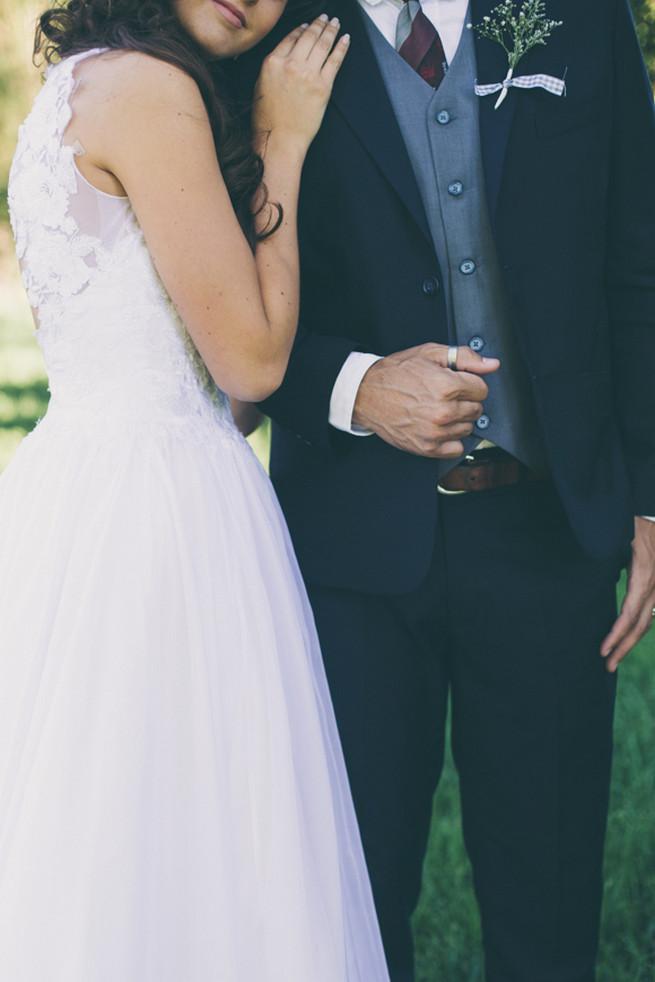 Romantic couple wedding photography. Grey White Farm Wedding, South Africa // Maryke Albertyn