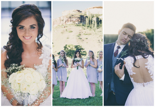 Grey and White Farm Wedding {Maryke Albertyn Photography}
