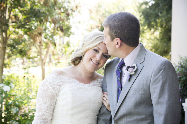 Purple and Gray DIY Wedding / Peterson Photography