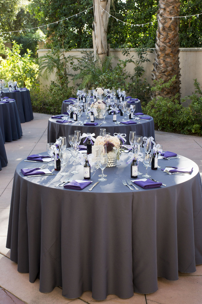 purple and gray wedding decorations lovely purple and gray diy wedding peterson photography 6869