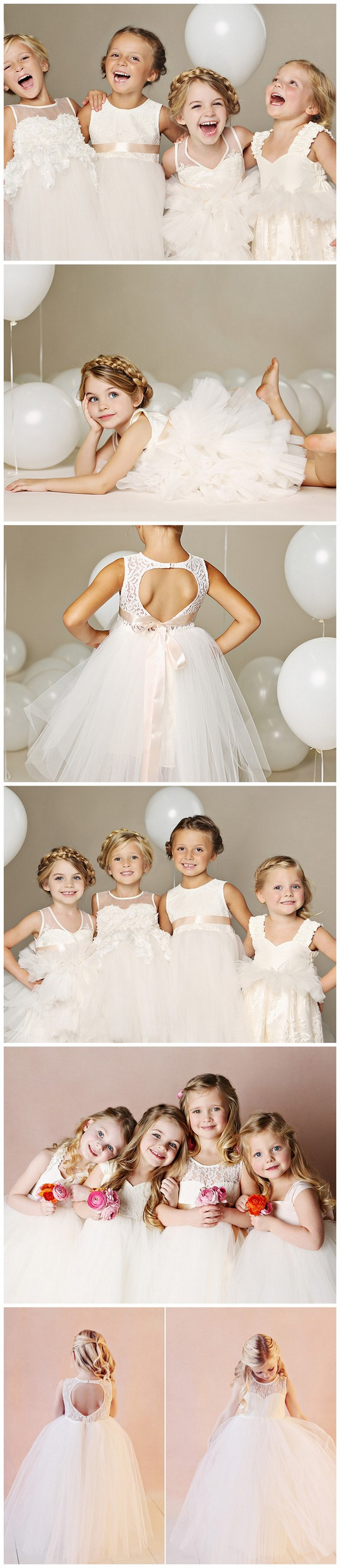 Quite Possible the cutest flower girl dresses on earth! https://www.confettidaydreams.com/flower-girl-dresses-fattie-pie/