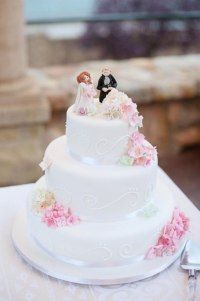 All White Wedding Cakes (25)