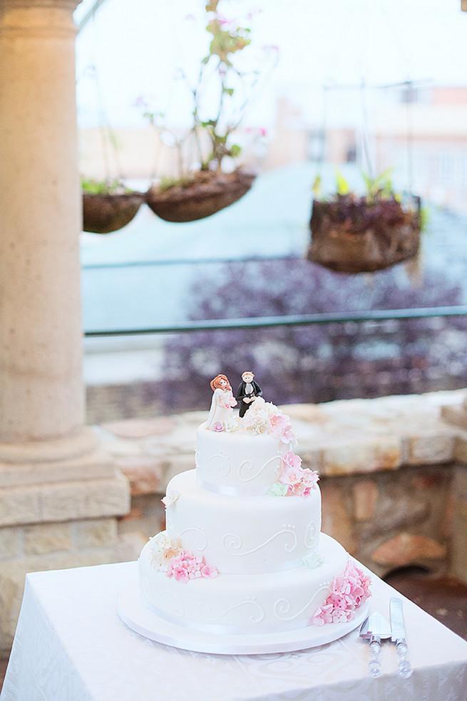 All White Wedding Cakes (26)