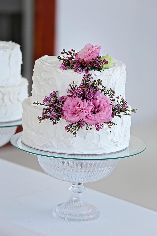 All White Wedding Cakes (31)