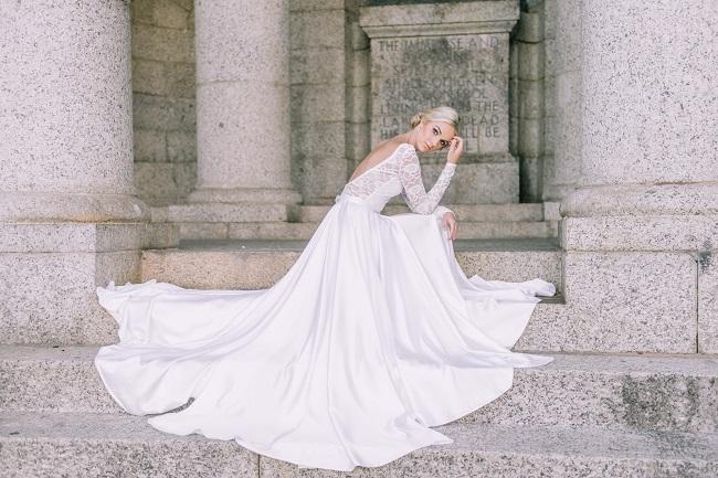 Cape Town Wedding Dress Designer: Fiona Mauchan {Claire Thomson Photography}
