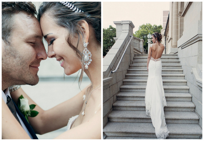 Chic and Romantic Cape Town City Wedding