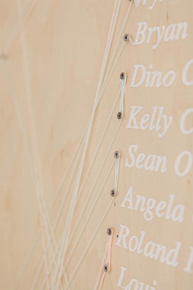 Seating chart. Chic, Romantic Cape Town City Wedding (Coba Engelbrecht Photography)
