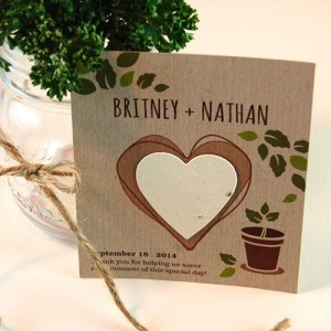 Eco Friendly Wedding Favors Seed paper (2)
