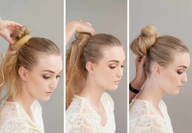 How To Make A Donut Bun by Lisa Brown {ST Photography}