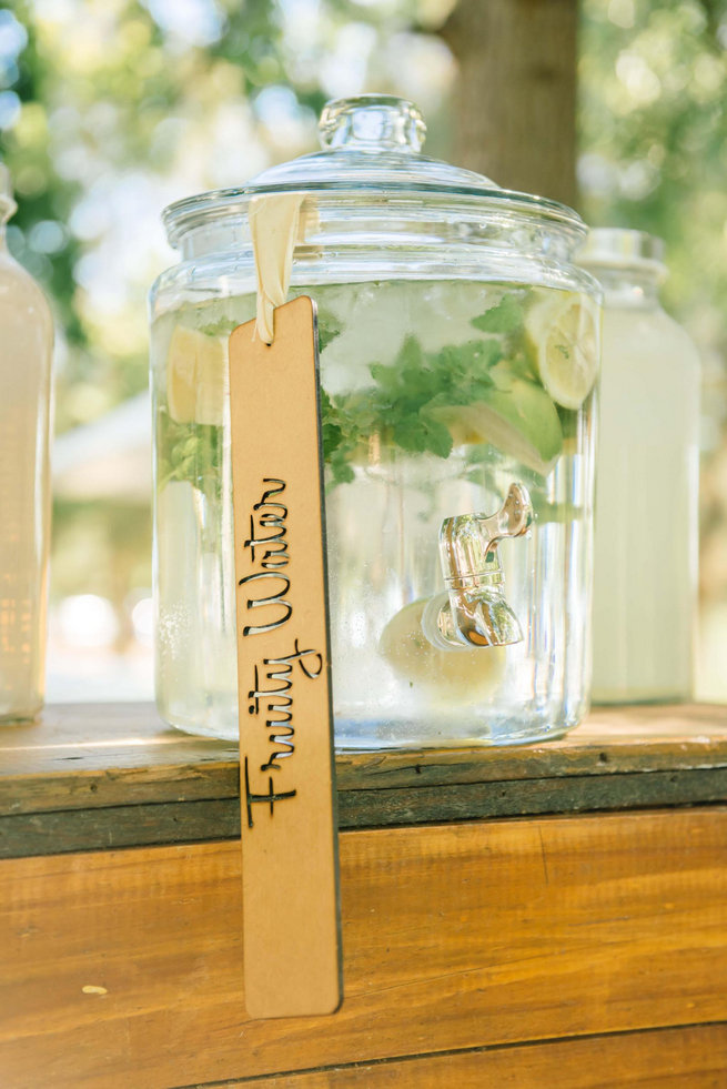 Fruity water // Langkloof Roses Wedding, Cape Town - Claire Thomson Photography