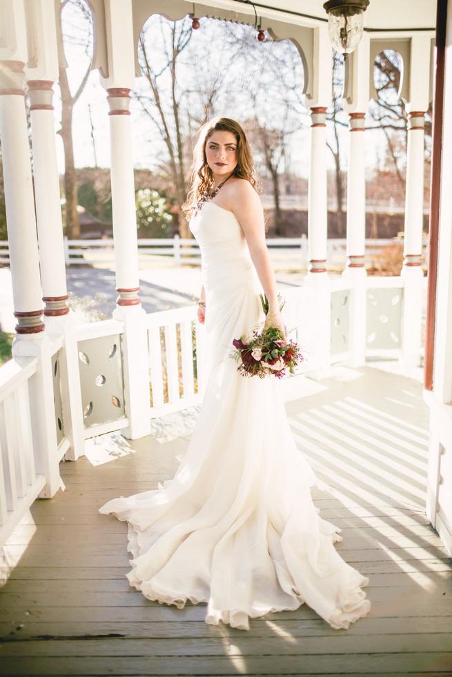 Winter bride  - RedboatPhotography.net