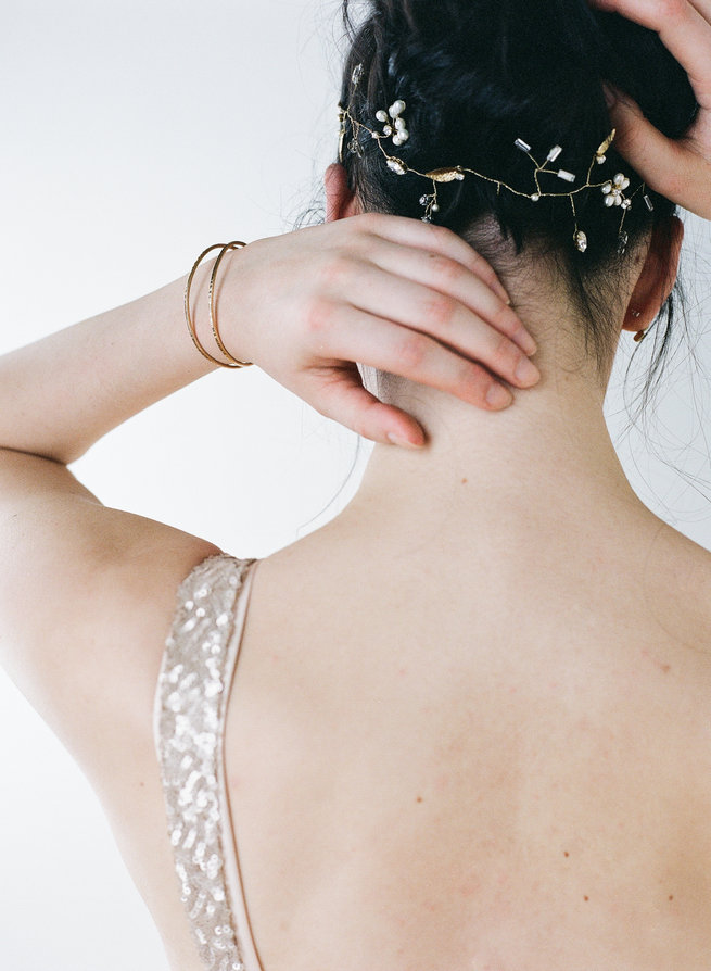 Pascal Cuff - Truvelle Makers Collaboration - Blush Wedding Photography / Olivia Headpieces / Catherine Hartley Jewellery