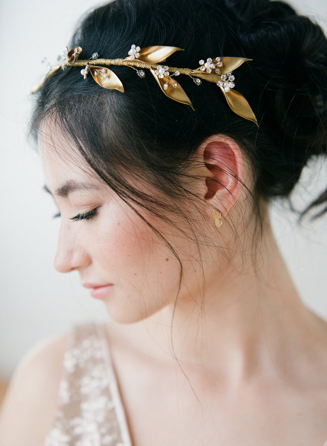 Truvelle Makers Collaboration - Blush Wedding Photography / Olivia Headpieces / Catherine Hartley Jewellery