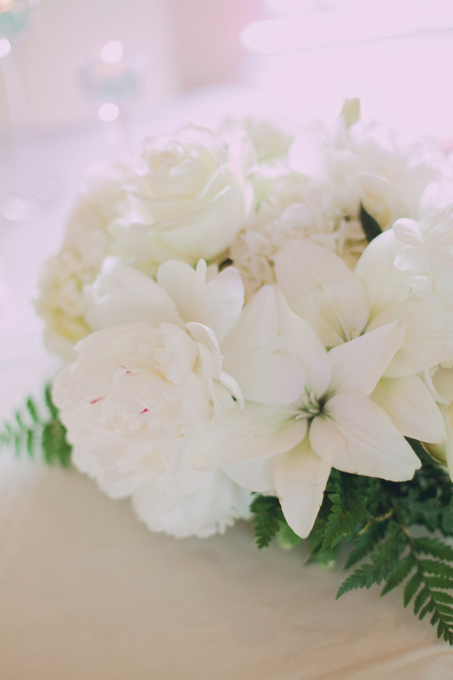 White peony, white roses, lillies - Lindsey K Photography