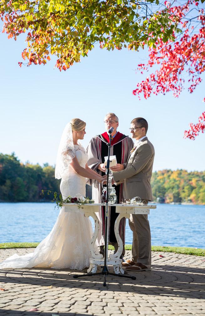 Beautiful Burgundy and Tan Wedding - Molinski Photo