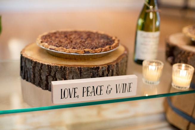 Love, Peace and Wine - Beautiful Burgundy and Tan Wedding - Molinski Photo