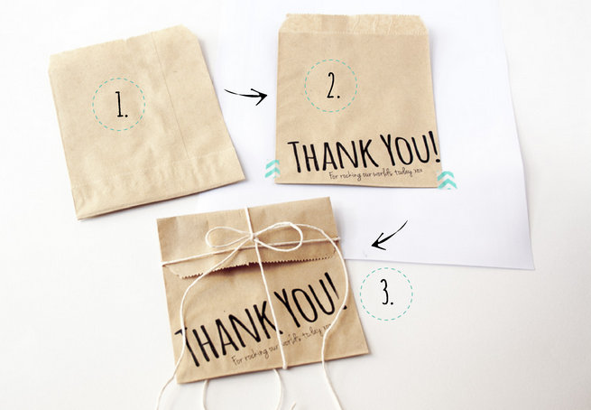 How to Print on Paper Bags DIY 3