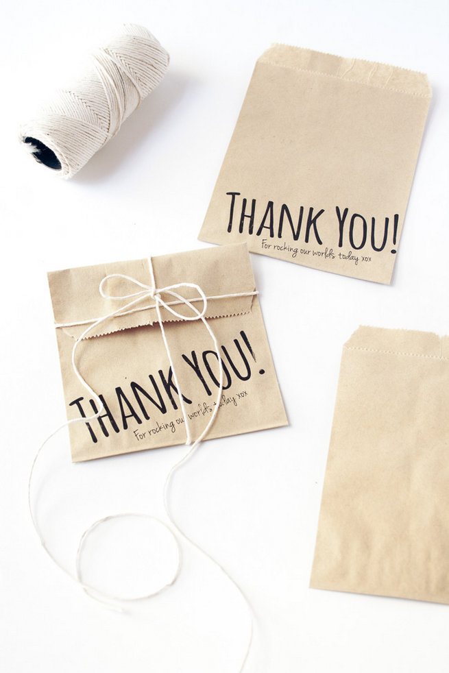 How to Print on Paper Bags DIY 4
