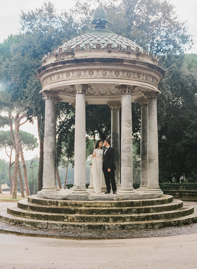 Elopement in Rome, Italy - Rochelle Cheever Photography