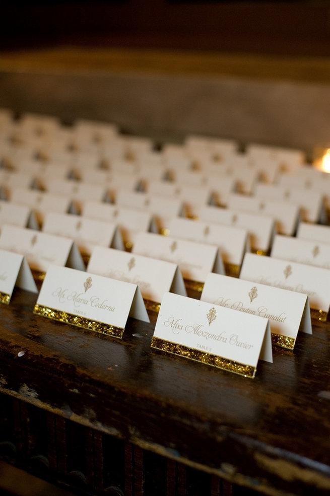 Blush and Gold Romantic, Glitzy Wedding - Andi Diamond Photography