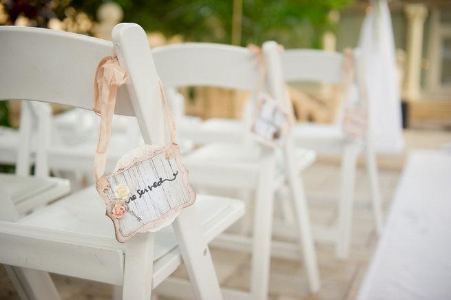 Wedding Ceremony / Blush and Gold Romantic, Glitzy Wedding - Andi Diamond Photography