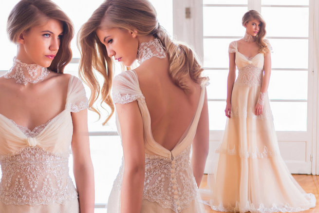 Victoria KyriaKides Couture Gowns {Exclusive Designer Interview}