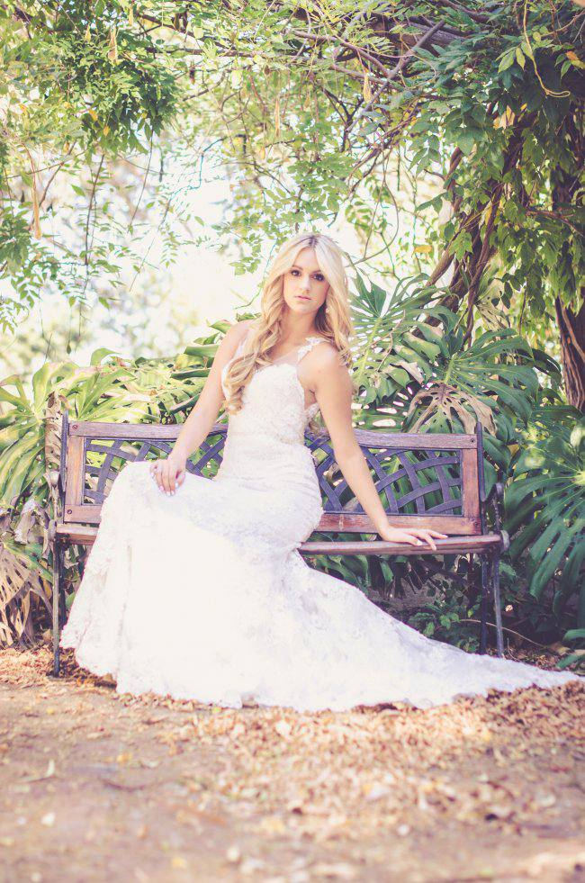 Garden Wedding Ideas in Marsala