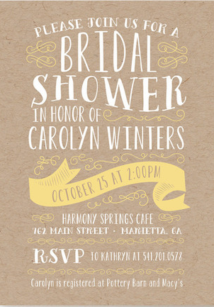 Bridal Shower Invitation Ideas (15)