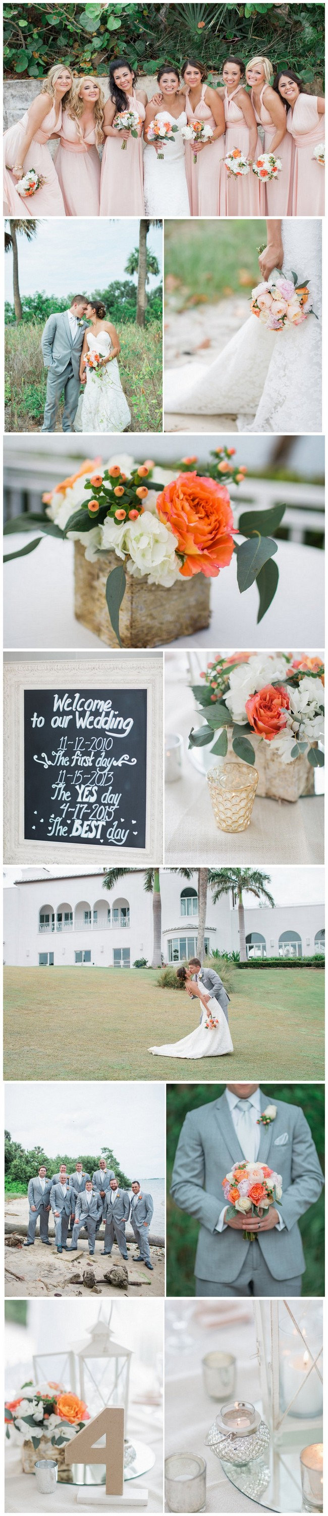 Coral Spring Florida Wedding  - Jessica Bordner Photography. See more gorgeous details here: https://www.confettidaydreams.com/vintage-spring-florida-wedding/
