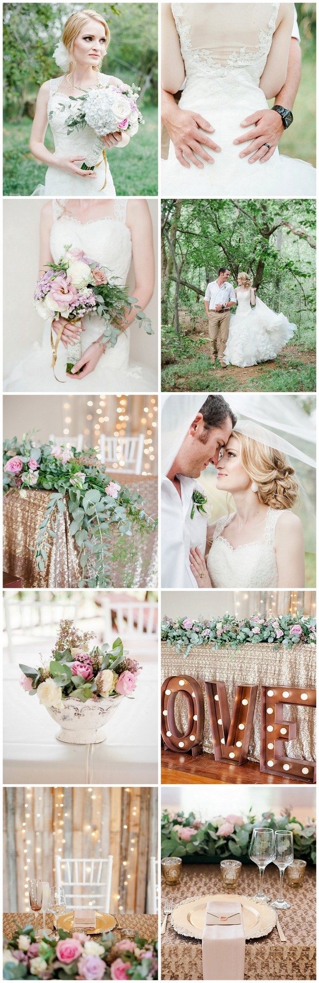 Totally Dreamy Pastel Gold Pretoria Wedding https://www.confettidaydreams.com/pastel-gold-pretoria-wedding/