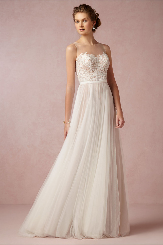 Chic Sophisticated Wedding Dresses For S The Penelope Gown Has All Elements Of