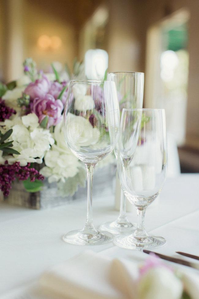 Romantic Purple, Ivory + Gray Wedding at La Venta Inn / Figlewicz Photography