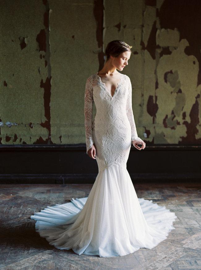 Sareh Nouri Lace Wedding Dress (29)