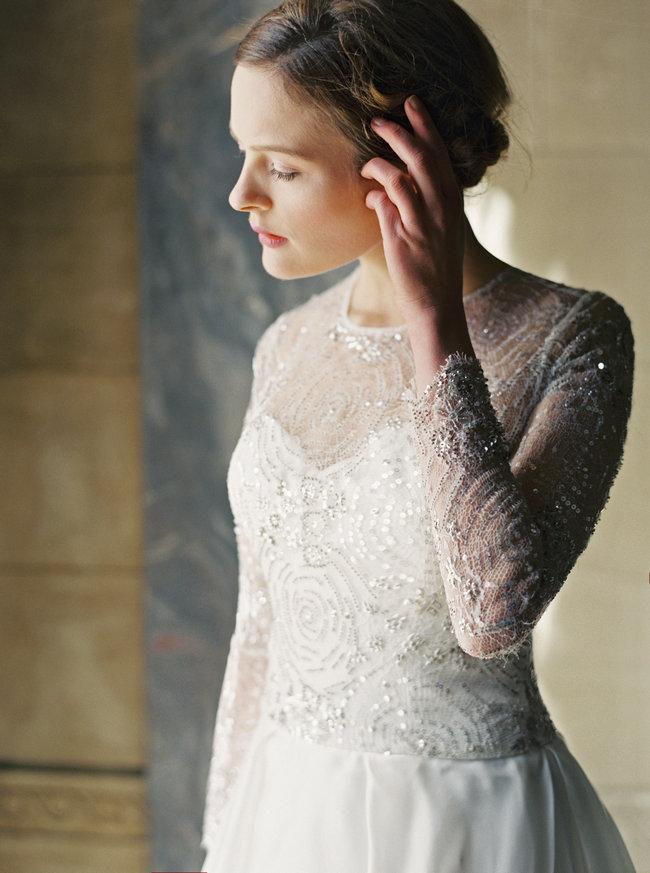 Sareh Nouri Lace Wedding Dress (36)