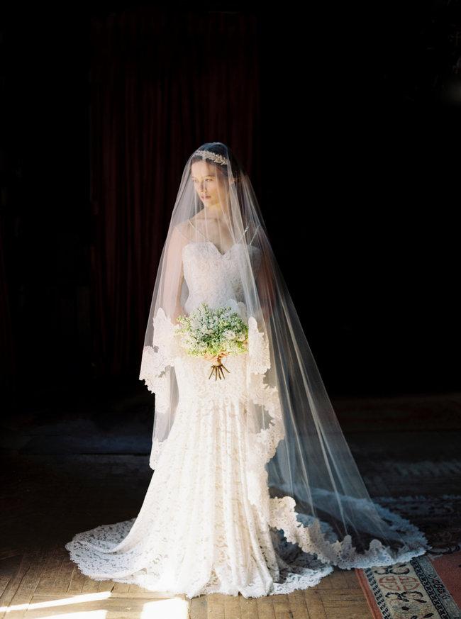 Sareh Nouri Lace Wedding Dress (4)