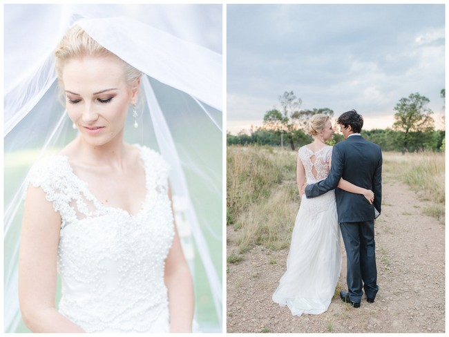 Soft Vintage Pretoria Wedding {Lightburst Photography}