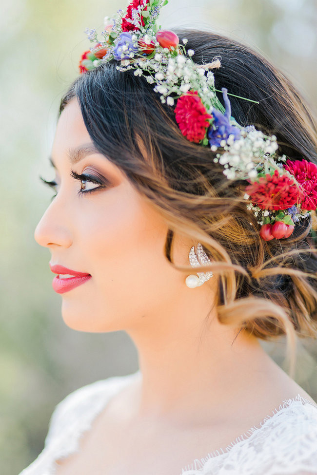 Bohemian Barn Wedding in the Desert
