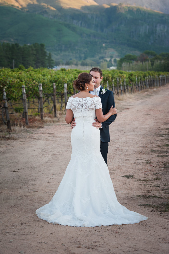 Romantic all-white flower-filled Franschhoek Wedding - Lauren Kriedemann Photography