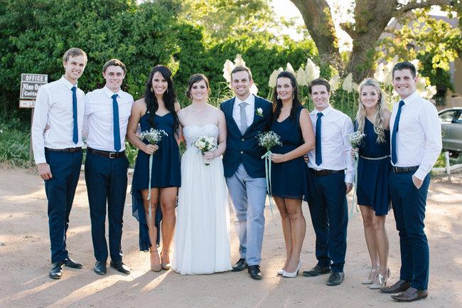 Navy Grey Kronenburg Wedding Marli Koen Photography