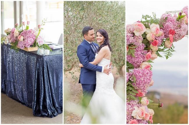 Blush and Navy Landtscap Wedding – Adele Kloppers Photography