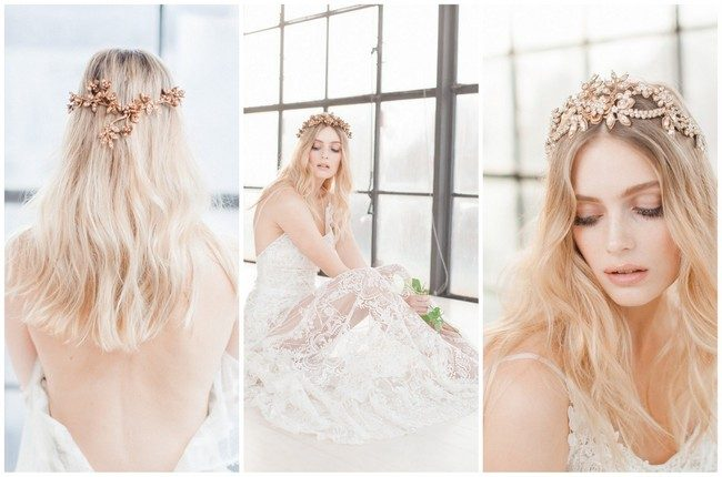 Jannie Baltzer's Wild Nature Bridal Headpiece Collection {Sandra Aberg photography}
