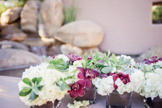 Plum Pink + Gold Arizona Wedding - Jessica Q Photography