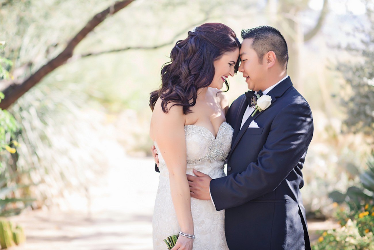 Plum Pink + Gold Arizona Wedding - Jessica Q Photography