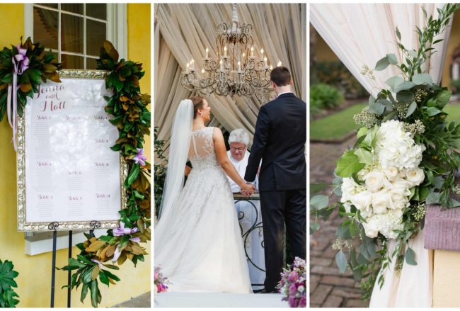 Romantic Charleston Wedding at Historic William Aiken House {Riverland Studios}
