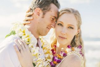 Laid Back Tropical Maui Destination Beach Wedding. Angie Diaz Photography