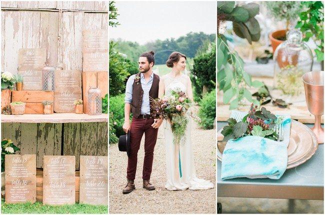 Bohemian Themed Wedding Ideas {Roxanna Sue Photography}